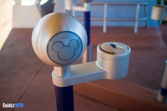 Disney World Turnstile
