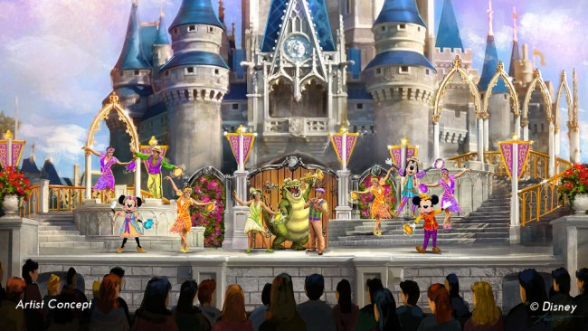 Mickey's Royal Friendship Faire Concept Art - Guide2WDW