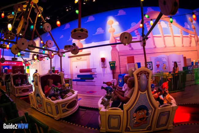 Toy Story Mania - Disney World