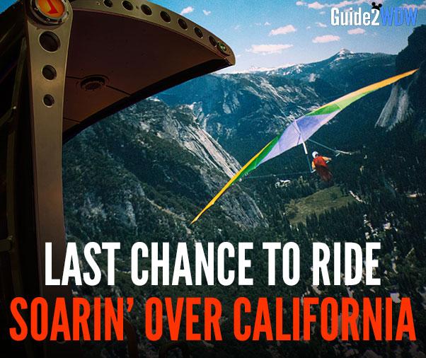 Last Chance to Ride Soarin - Epcot