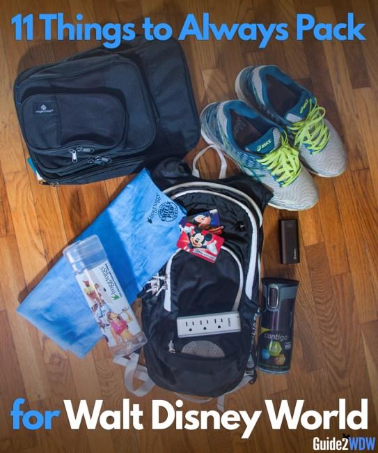 Disney World - Packing Essentials - Guide2WDW