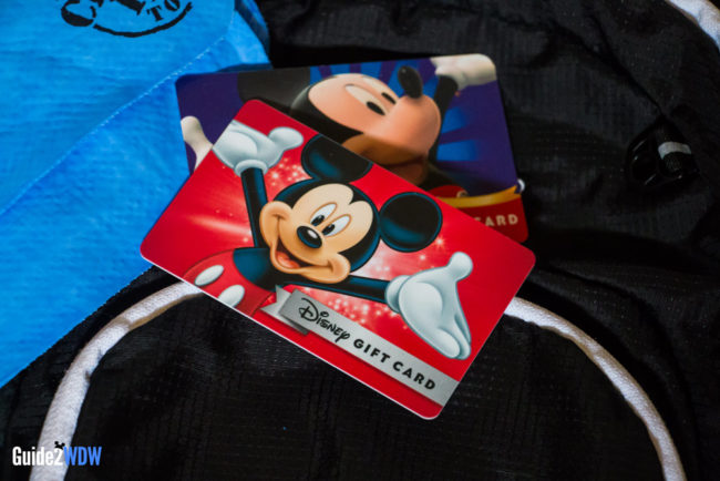 Disney World Gift Cards