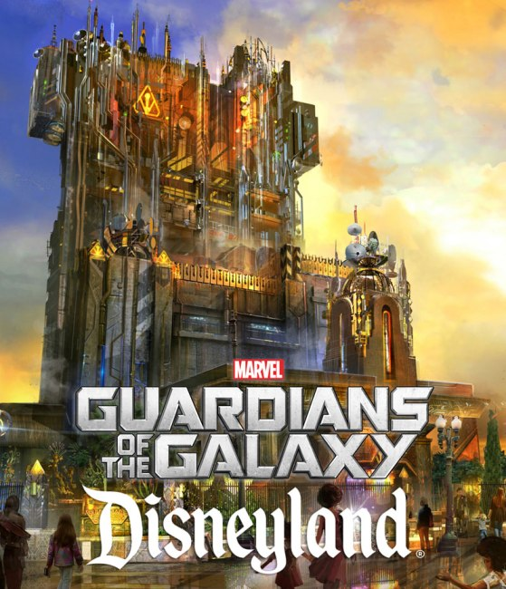 Guardians of the Galaxy at Disneyland