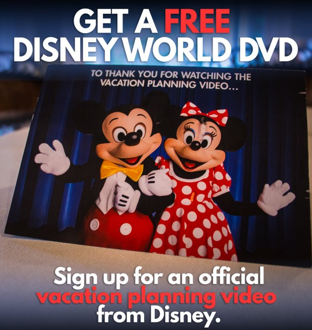 Get a Free Disney World DVD from Disney