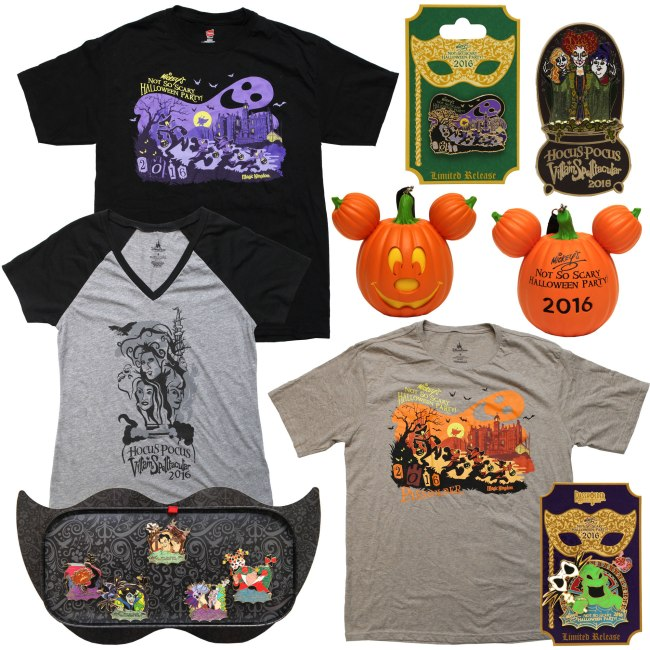Mickey's Not So Scary Halloween Party - Merchandise 2016