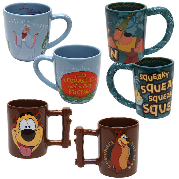 New Disney Character Mugs