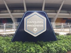 Carousel of Progress - New Sign