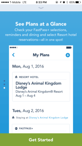 My Disney Experience App Tutorial 3