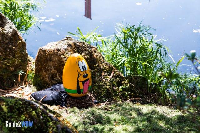 Pluto Egg - Epcot Eggstravaganza - Epcot Flower & Garden Festival