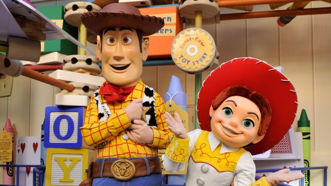 Woody and Jessie - Disney's Hollywood Studios