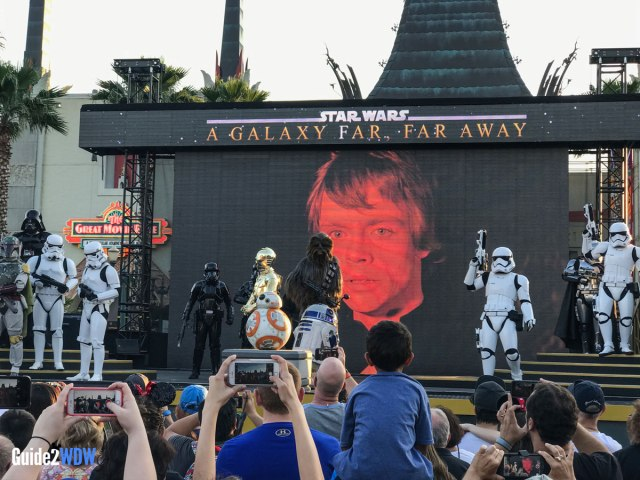 A Galaxy Far Far Away - Star Wars at Disney World