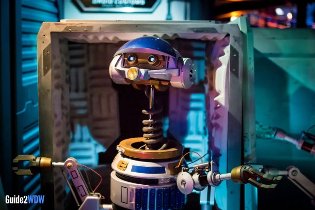 Rex - Star Tours - Star Wars at Disney World
