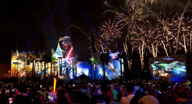 Star Wars - A Galactic Spectacular - Star Wars at Disney World