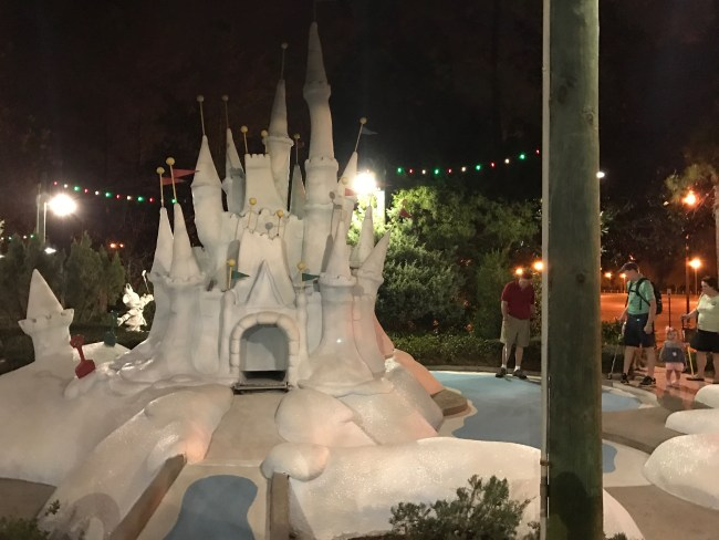Winterland Summerland Disney World Putt Putt
