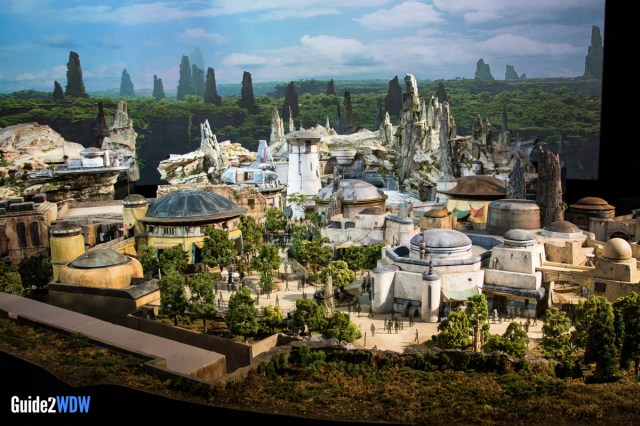 City Center - Star Wars: Galaxy's Edge Model - Disneyland and Disney World