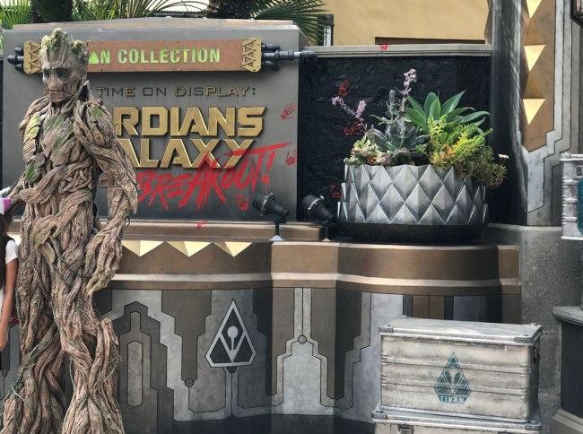 Groot at Disneyland