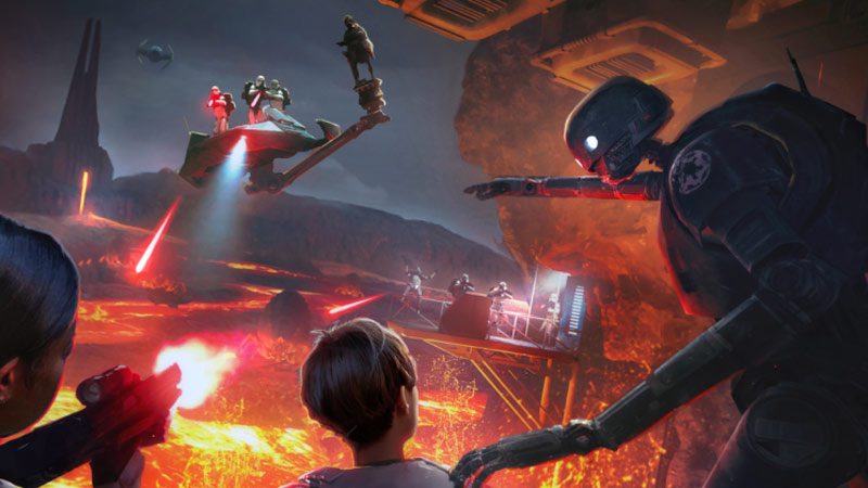 Star Wars: Secrets of the Empire VR Experience coming to Disney Springs & Downtown Disney later this year.