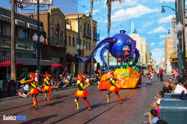 Pixar Play Parade - Disneyland