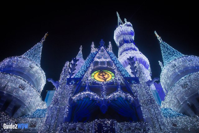 Disney World - Cinderella Castle Lights - Christmas