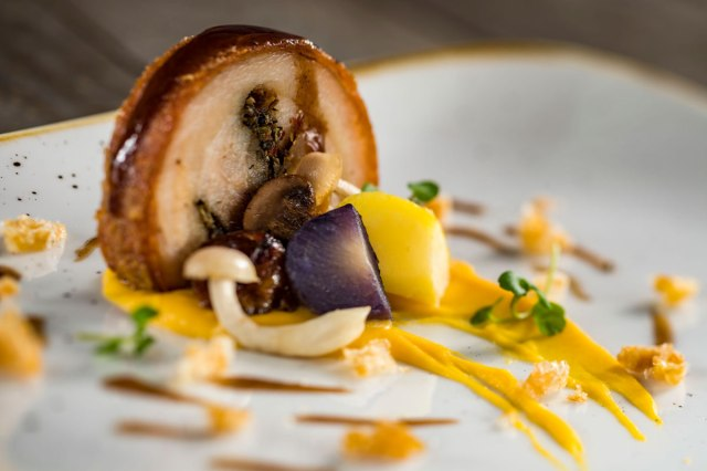 Pork Roulade - Artist Table - Epcot Festival of the Arts