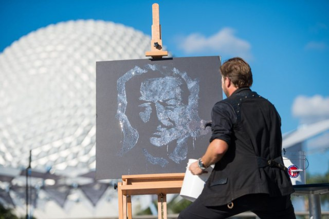 Artist at Festival of the Arts - Epcot - Disney World