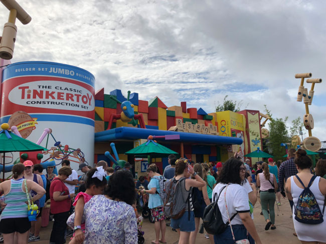 Bathroom - Toy Story Land - Disney's Hollywood Studios - Walt Disney World