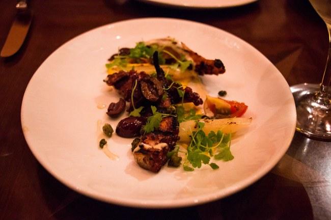 Octopus - Tiffins - Disney World Restaurant Romantic