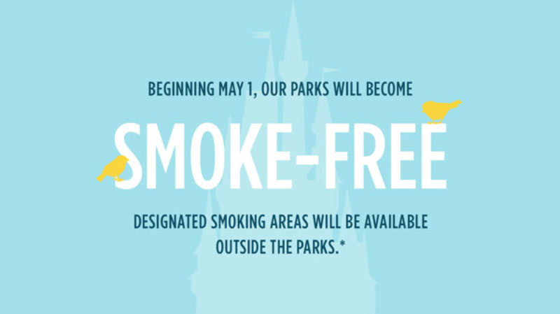 Disney World and Disneyland ban smoking and implement new stroller and cooler rules