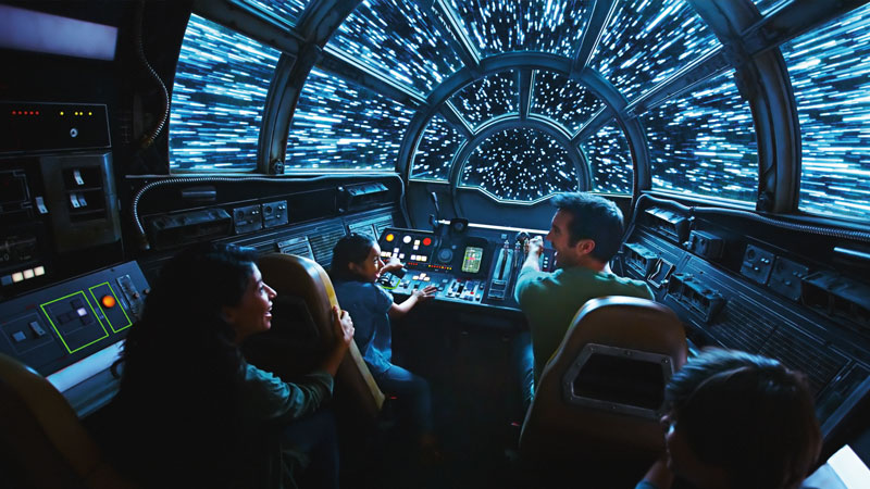 The 4 most mind-blowing things we learned about the rides at Star Wars: Galaxy's Edge