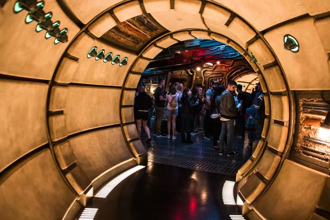 Millennium Falcon Interior Star Wars Galaxys Edge- Disneyland- Guide2WDW