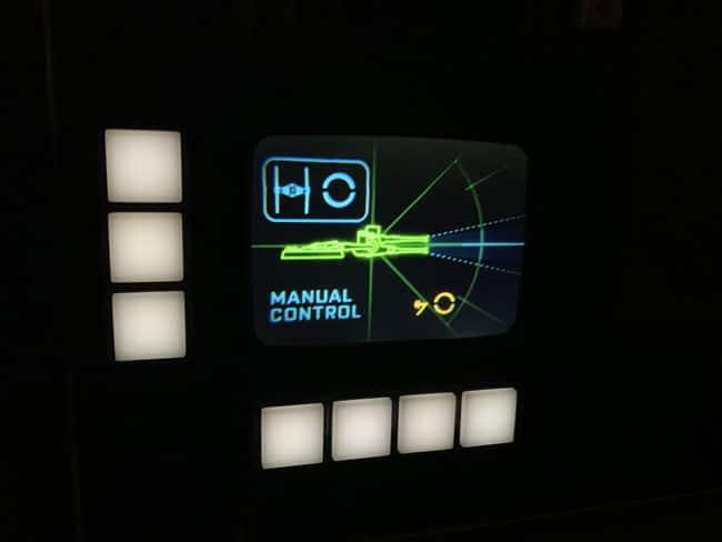 Manual Control- Millennium Falcon Smugglers Run Ride Guide- Guide2WDW