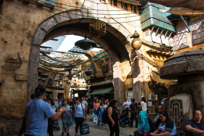 Marketplace - Star Wars Galaxy's Edge - Disneyland