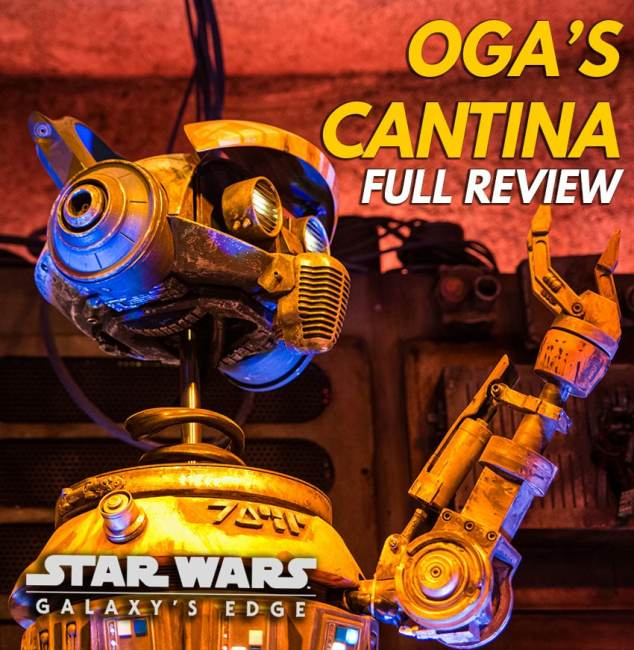 Oga's Cantina Review - Galaxy's Edge Bar