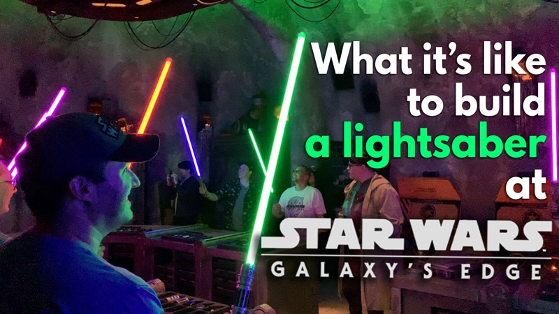 VIDEO: The Complete Lightsaber Building Experience at Star Wars: Galaxy's Edge