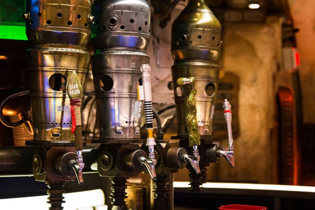 Taps - Oga's Cantina Review - Star Wars Galaxy's Edge - Guide2WDW