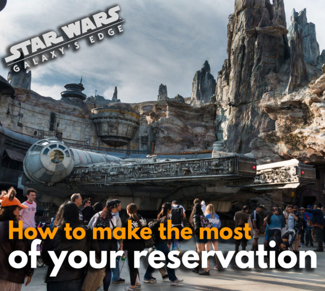 Tips For Making The Most of Your Time at Star Wars Galaxy's Edge