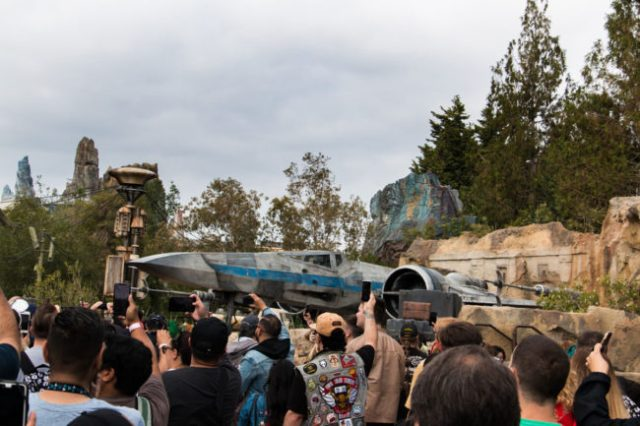 X-Wing - Star Wars Galaxy's Edge- Disneyland- Guide2WDW