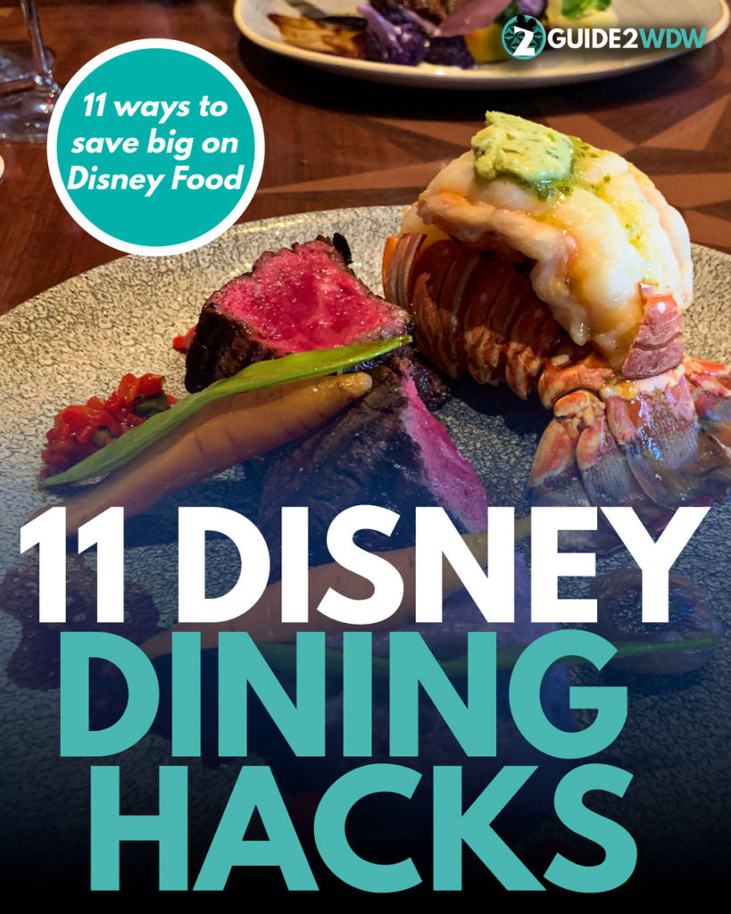 Save big with these 11 Disney Dining Secrets - Poster
