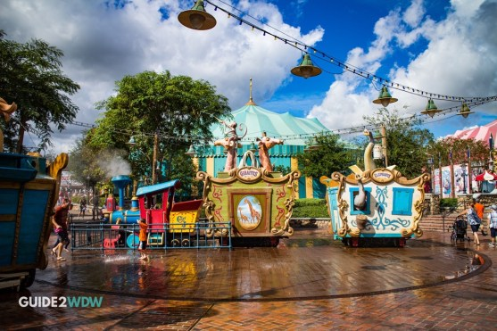 Casey Jr Splash and Soak Station - Magic Kingdom