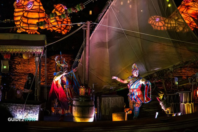 Performers - Rivers of Light - Animal Kingdom Show - Disney World Entertainment - Guide2WDW