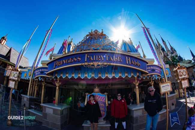 Princess Fairytale Hall - Exterior- Magic Kingdom Attraction