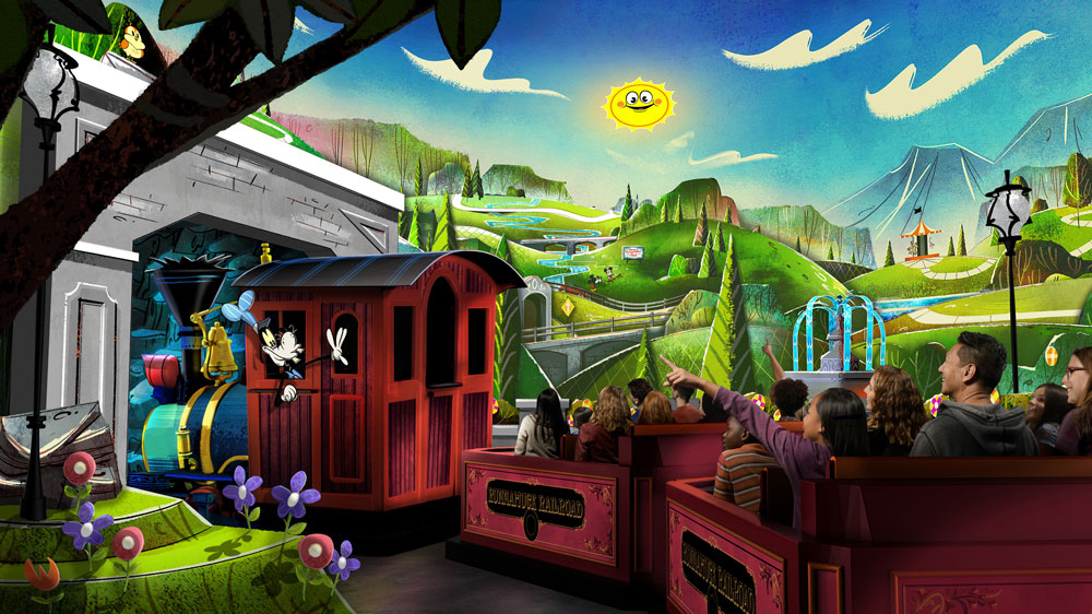 Mickey & Minnie's Runaway Railway FastPass+ Now Available for Reservation