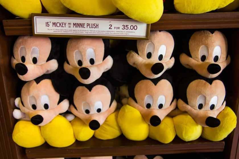 Mickey Mouse Plush Toys - Disney World Souvenirs