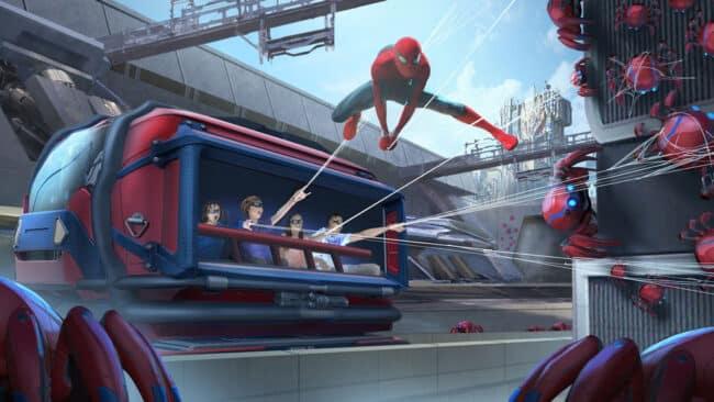 WEB SLINGERS A Spider-Man Adventure concept art