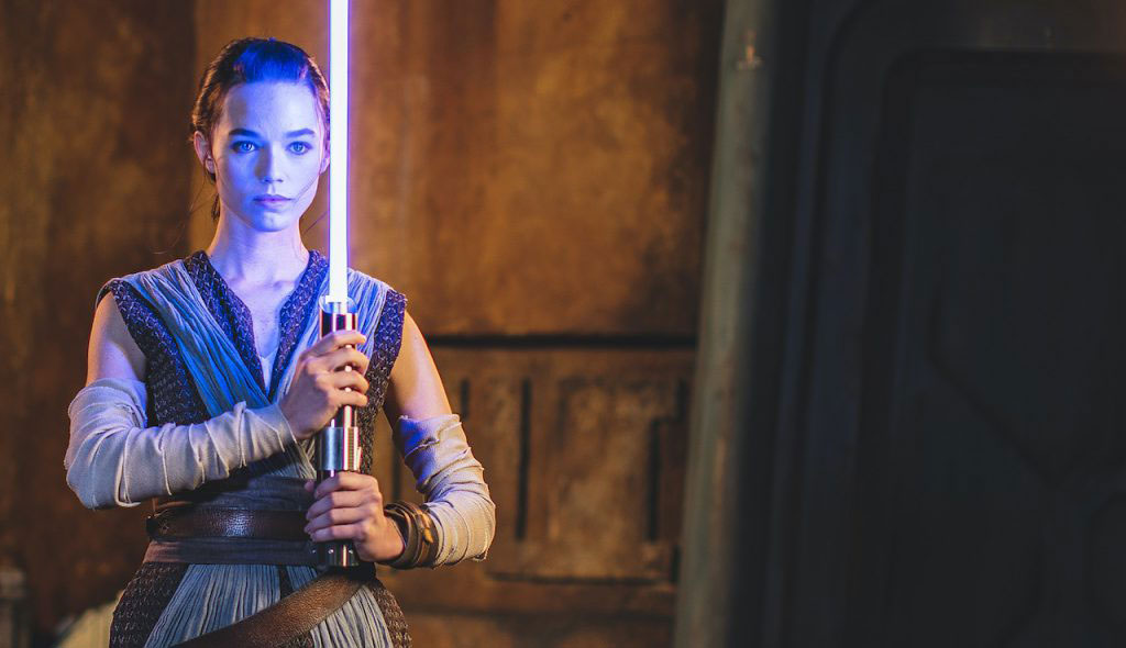 "Disney unveils its ""real"" lightsaber"
