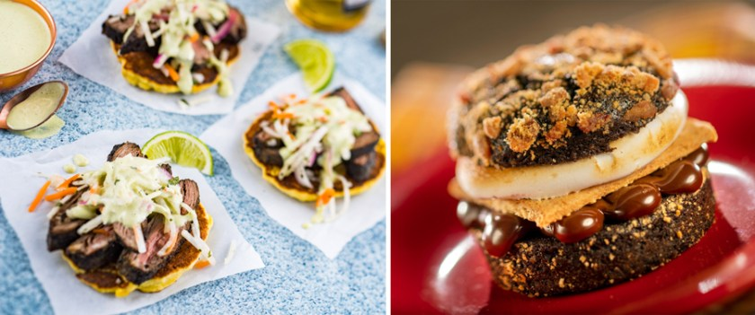 Flavors from Fire- 2021 Epcot Food & Wine Festival Menus