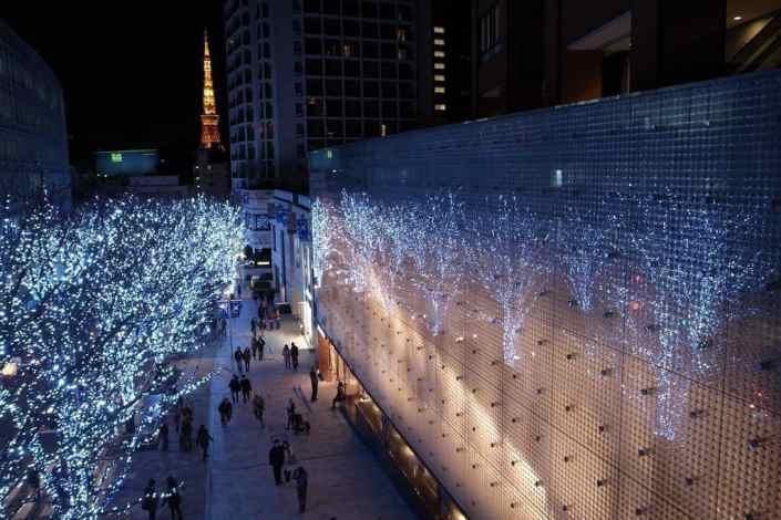 C'est Noël au Japon