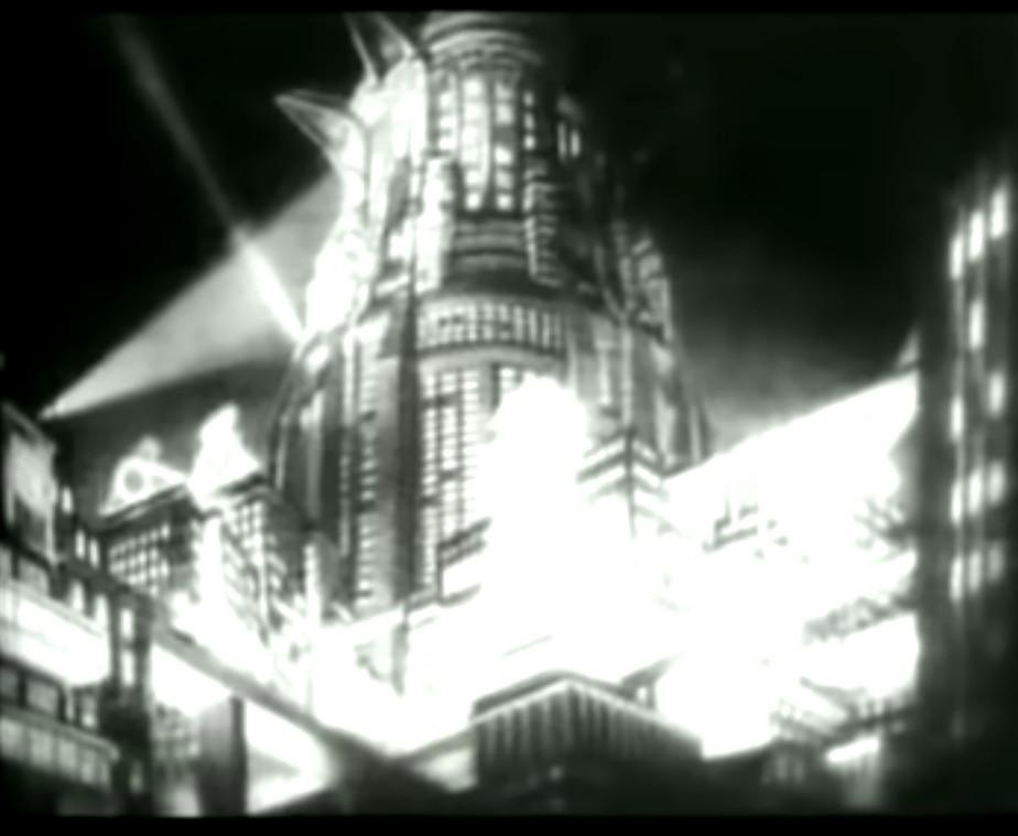 radio gaga queen teledysk wieza tower