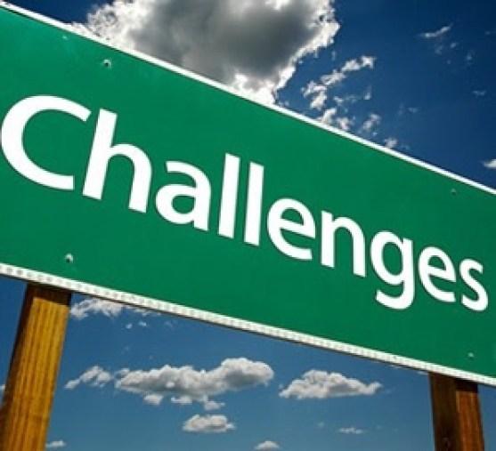 チャレンジの文字