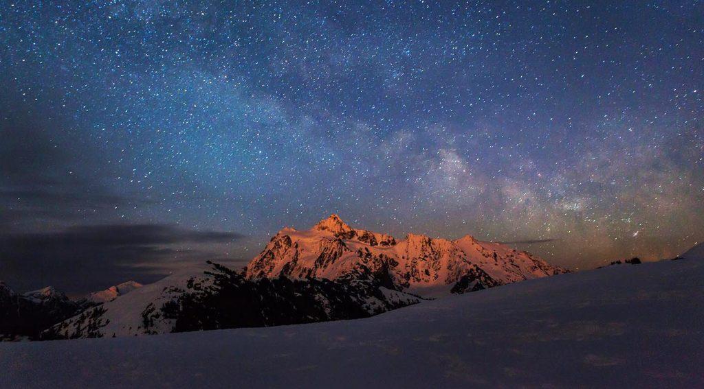 ski sous les étoiles